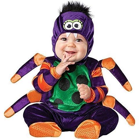 Deluxe Bebé Niño Niñas Itsy Bitsy Spider libro Día Halloween En Character Disfraz Outfit