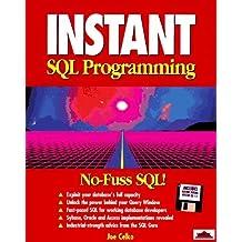 Instant SQL by Joe Celko (1995-10-02)