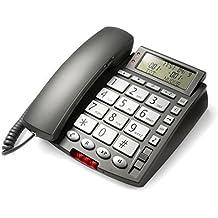 Saiet Telefono Fisso, Display Senior, Grigio