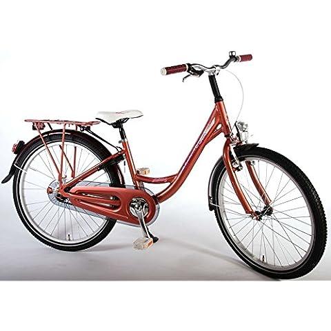 bicicletta bambina 24 pollici rosa