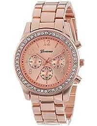 Reloj Sunday Reloj Con Correa Cómodo Pulsera Banda anchura Doblar Corchete Relojes Inteligentesrelojes Reloj Reloj Mujer