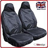 Automs - Fundas de asiento para Opel Combo (1+1), impermeables, color negro