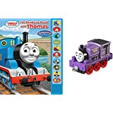 Thomas & Friends By Fisher Price-Ryan Take And Play And I'm Ready To Read Book Bundle-2 Items-Book And Train