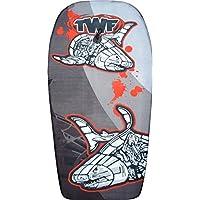 TWF–Tabla de Kid 's de cuerpo de EPS Gris Tiburones, 37-inch