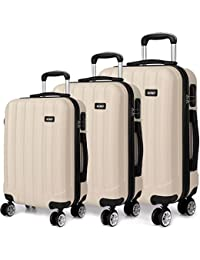 ad4d9e760 Kono Luggage Suitcase Hard Shell 4 Wheel Spinner Holiday Travel Business  Trip Trolley Case 20