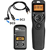 PIXEL T9-DC0/DC2 LCD 2.4GHz Wired Or Wireless Timer Remote Control For Nikon D300s