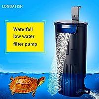 Level Mini Silent Air Pump Leistungsstarke Sauerstoffpumpe 220 V Aquarium Kompressorpumpe Fisch Schildkr/öte Tank Noise Reduction