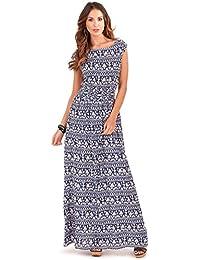 Traje de neopreno para mujer Vibrant 100% algodón e instrucciones para hacer vestidos ajustados Tropical de frases en Inglés con diseño de playa Holiday, azul o verde