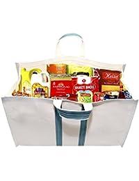 Multipurpose Large Capacity Shopping Bag/Grocery Bag/Hand Bag/Vegetable Bag With Reinforced Handles & Thick Bottom...