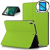 Forefront Cases® Apple iPad Pro 10.5 A1701 Funda Carcasa Stand Smart Case Cover Protectora Plegable – Función automática inteligente de Suspensión/Encendido + Lápiz óptico y Protector de pantalla (VERDE)