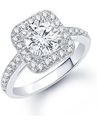 V. K. Jewels Classy Rhodium Plated Ring For Women - Fr1056R [Vkfr1056R]