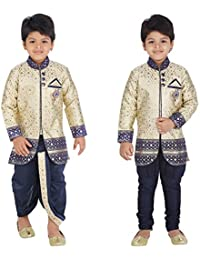 ahhaaaa Sherwani, Payjama and Dhoti Pant Set for Boys