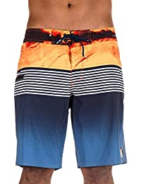 "Quiksilver Highline Lava Division 19"" - Board Shorts For Men EQYBS03916"