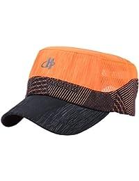 Malla Transpirable Hombres Sombrero De Verano Ajustable Vendedor De  Periódicos Boina Ivy Cap Cabbie Gorra Plana 47f62f7668b