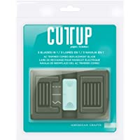 Cutup Combo Paper Trimmer Replacement Blade-For AC90703