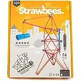Strawbees Maker Builder Kit - 100 Strohhalme und 100 Steckverbinder Set, Pädagogisch & Kreative Spielzeug   Baukasten   Bauset - geeignet für Kinder ab 5 Jahren