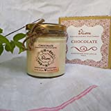 Chocolate Scented Candle Made With Blended Natural Wax And Fine Fragrance Oils For A Healthy And Clean Burn/Chocolate Candle