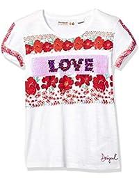 99134f267 Desigual Girl Knit T-Shirt Short Sleeve (TS dakotadel)