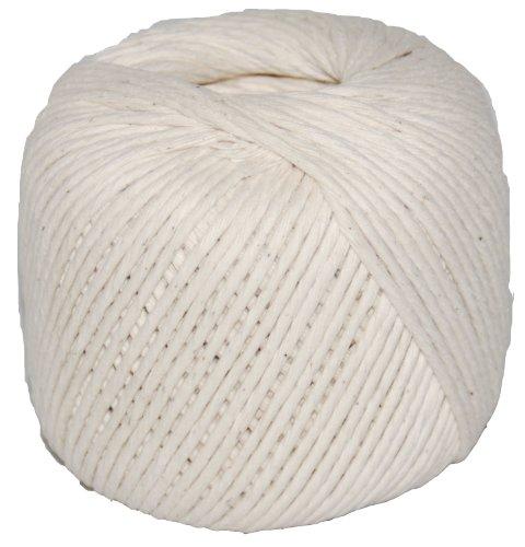 T.w. Evans Cordage 09–608 Number-60 poli Ficelle de coton de Boeuf avec boule 270-feet