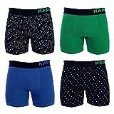 Happy Shorts 4 Pants Herren Boxershorts Boxer witzige Designs D3 X-Mas Weihnachten, Grösse:M - 5-50, Farbe:Design 03