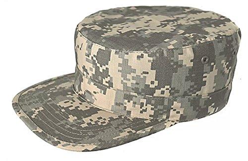SODIAL(R) Ejercito Militar Urbano Visera Cap Mens Senora Sombrero Camo