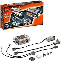 LEGO Power Functions - Set de Motores Complementarios a tus Juguetes de Construcción (8293)