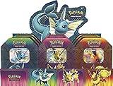 collect-it Pokemon - Frühjahr 2019 Tin Mix - 1 Set (Aquana, Blitza & Flamara) Jede TIN 1x - Deutsch