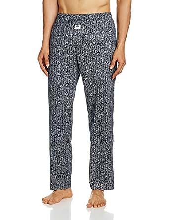 Amazon Brand- Symbol Men's Cotton Lounge Bottom (MNW-PYJ5_Multicoloured_X-Large)
