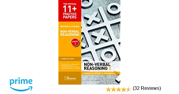 11+ Practice Papers, Non-Verbal Reasoning Pack 2 (Multiple Choice ...