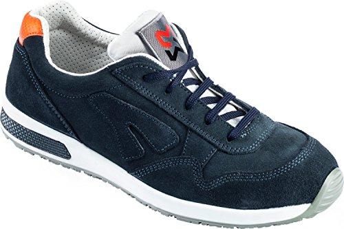 WÜRTH MODYF Sicherheitsschuhe S1 SRC Jogger blau: Der genormte Schuh mit Zehenschutzkappe ist bestens für Innenbereiche geeignet und schützt Sie umfänglich, jetzt in der Größe 45 erhältlich.