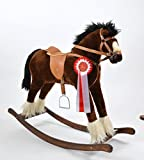 TITAN Handmade Brand New LARGE Rocking Horse MADE IN EUROPE by ALANEL