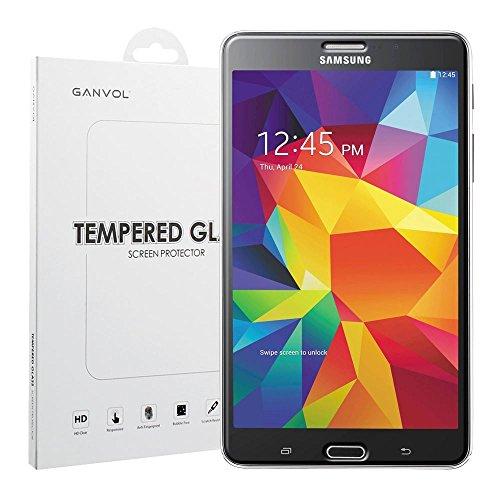 Ganvol Panzerglasfolie für Samsung Galaxy Tab 4 7.0 Zoll / Tab 4 7 SM-T230 T231 T235 Panzerglas Panzerfolie Echtglasfolie