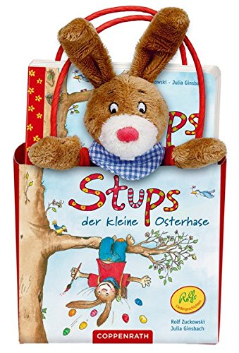 Stups, der kleine Osterhase. Geschenkset: Buch mit Plüschfigur