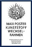 empireposter - Rahmen Maxi 61x91,5 cm - 15mm Kunststoff Blau - Größe (cm), ca. 62x93 - Wechselrahmen, NEU - Beschreibung: - Rahmen Wechselrahmen der Marke empire Frames Profil 15mm Kunststoff Blau Acrylglas-Scheibe Bilderrahmen Posterrahmen -