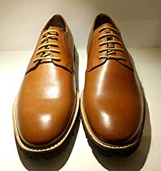 Bata Mens Tan Leather Casual Shoes UK Size 7 ( 8243819 )