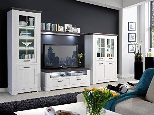 GABUN TV-Unterteil Schneeeiche/Pinie - 2