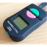 Ewin24 Digital Hand Tally Counter Electronic Manual Clicker Add/Subtract Model For Golf Sports