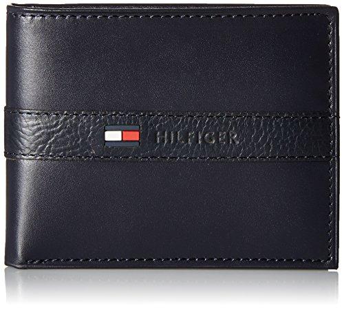 Tommy Hilfiger, Porte-cartes de crédit Homme - Bleu - Taille Unique