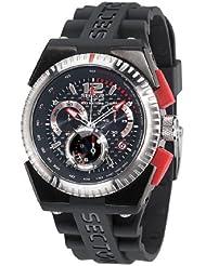 Sector - R3271671125 - M-ONE - Montre Homme - Quartz Analogique - Chronographe - Bracelet en Caoutchouc Noir