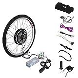 36V 500W Elektrofahrräder Hinterrad 26 Zoll Umbausatz Electric Bike Rear Wheel Hub Motor Conversion Kit