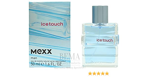 37ed4b3fd494 Mexx Ice Touch Man Eau de Toilette Spray 50 ml  Amazon.co.uk  Beauty