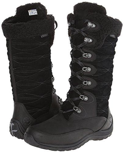 Timberland Women s EK Willowood WP INS Snow Boot Black 7 M US