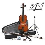 Violon Étudiant Plus 1/4 + Pack accessoires par Gear4Music