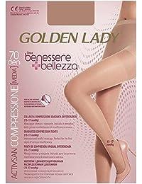 0e4347b0a80 Golden Lady Benessere Bellezza Collant 70Den Colore Playa Taglia XL
