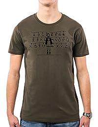 PacDesign Camiseta Hombre Stranger Things Eleven Wall Black Pd1562a e8a970c61076e
