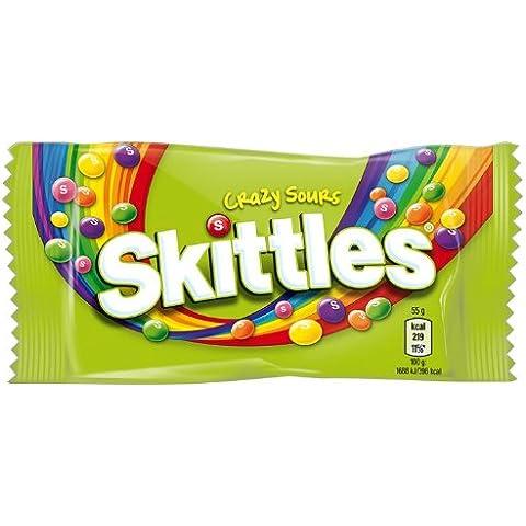 SKITTLES Crazy Sours 55 g Bag (Pack