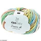 Rico Design Wolle Rico Baby Dream dk, 50g Multi Color