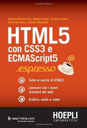 Html 5 Espresso (Internet e web design)