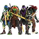 NEW 2014 Teenage Mutant Ninja Turtles Movie TMNT Set of 4 Action Figures Toys UK