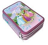 Astuccio Giotto 3 Cerniere Zip Principesse Disney Bambine